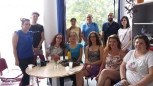 Alumnos de Mediación Comunitaria